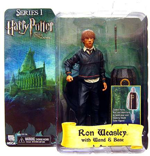 NECA Harry Potter The Order of the Phoenix Series 1 Ron Weasley Action Figure