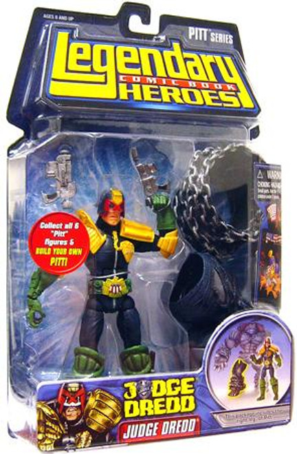 Marvel Legendary Heroes PITT Series Judge Dredd Action Figure