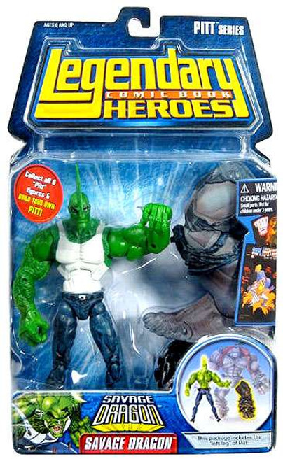 Marvel Legendary Heroes PITT Series Savage Dragon Action Figure [With Shirt]