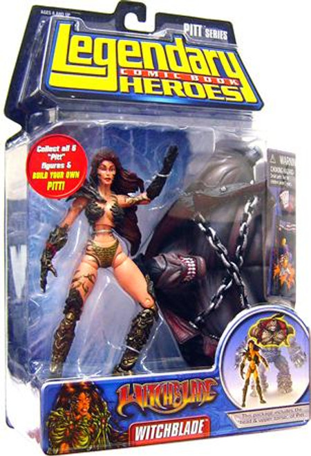 Marvel Legendary Heroes PITT Series Witchblade Action Figure