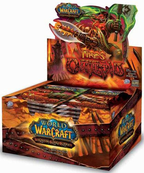 World of Warcraft Trading Card Game Fires of Outland Booster Box [24 Packs]