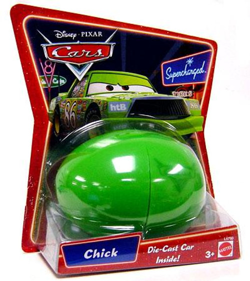 Disney Cars Supercharged Easter Egg Chick Diecast Car