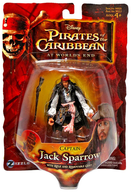 Pirates of the Caribbean At World's End Series 3 Captain Jack Sparrow Action Figure