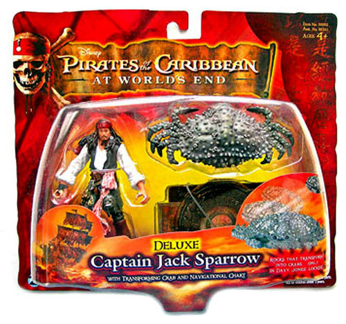 Pirates of the Caribbean At World's End Series 3 Captain Jack Sparrow Action Figure [Deluxe]