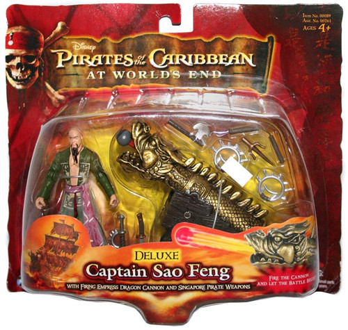 Pirates of the Caribbean At World's End Series 3 Captain Sao Feng Action Figure [Deluxe]