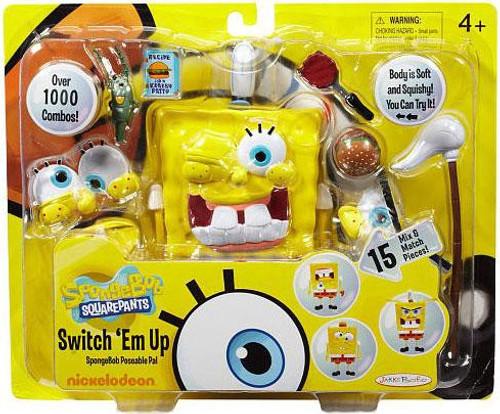 Spongebob Squarepants Switch 'Em Up Playset