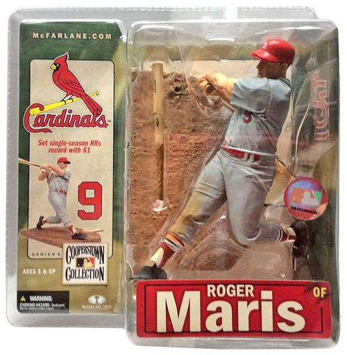 McFarlane Toys MLB St. Louis Cardinals Cooperstown Collection Series 4 Roger Maris Action Figure [Cardinals]