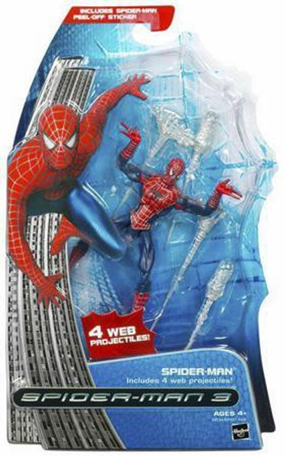 Spider-Man 3 Spider-Man Action Figure [Web Projectiles]