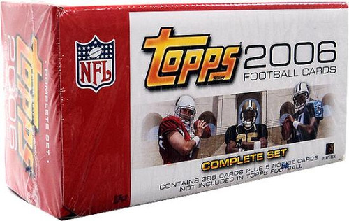 NFL 2006 Topps Football Cards Complete Set [Factory Sealed]