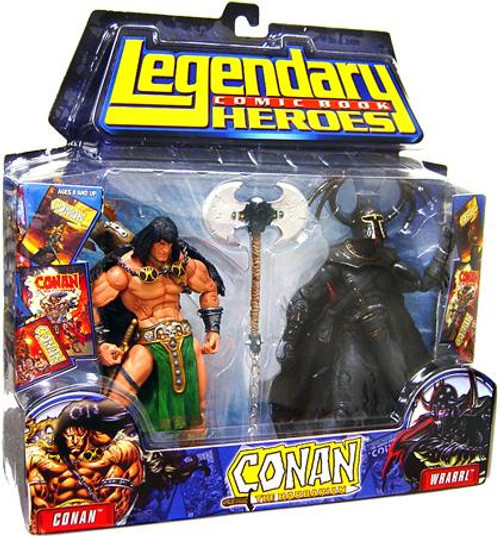 Marvel Legendary Heroes 2-Packs Conan the Barbarian Action Figure 2-Pack