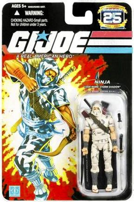 GI Joe 25th Anniversary Wave 1 Storm Shadow Action Figure
