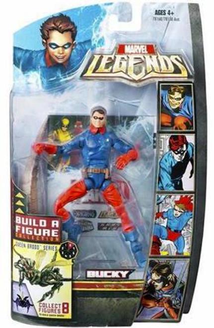 Marvel Legends Series 18 Brood Queen Bucky Action Figure [Golden Age]