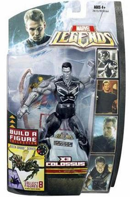 Marvel Legends Series 18 Brood Queen X3 Colossus Action Figure