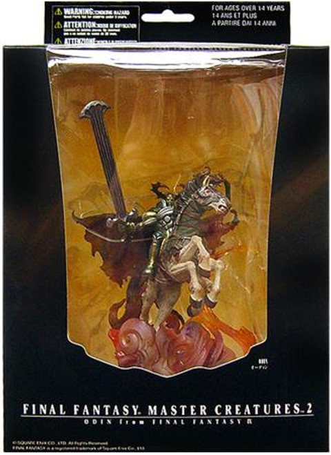 Final Fantasy Master Creatures Series 2 Odin On Sleipnir PVC Figure