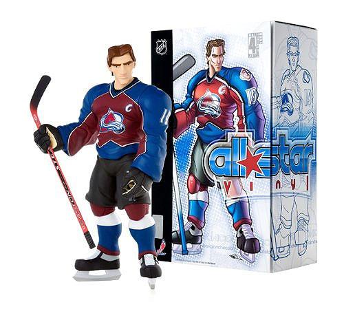 NHL Colorado Avalanche All Star Vinyl Joe Sakic Vinyl Figure [Red & Blue Home Jersey]
