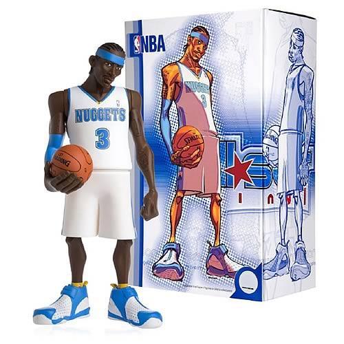 NBA Denver Nuggets All Star Vinyl Allen Iverson Vinyl Figure [White Home Jersey]