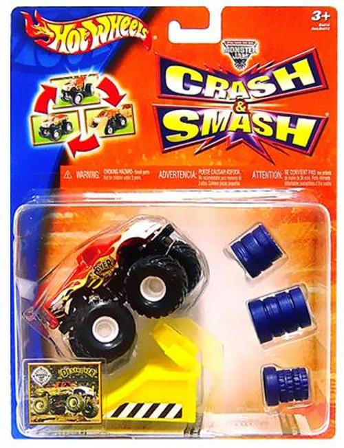 Hot Wheels Smash & Crash Monster Jam Destroyer Diecast Vehicle