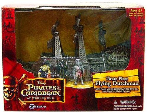 Pirates of the Caribbean At World's End Pirate Fleet The Flying Dutchman 3.75-Inch Playset