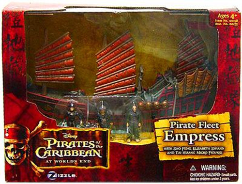 Pirates of the Caribbean At World's End Pirate Fleet Empress 3.75-Inch Playset