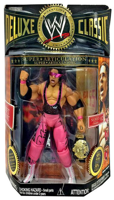 WWE Wrestling Deluxe Classic Superstars Series 2 Bret Hart Exclusive Action Figure