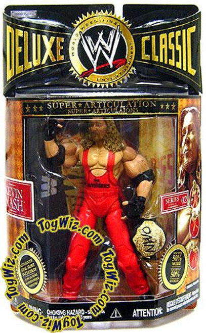 WWE Wrestling Deluxe Classic Superstars Series 2 Kevin Nash Exclusive Action Figure