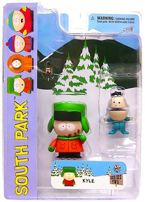 South Park Series 2 Kyle Action Figure [Poo-Face Variant]