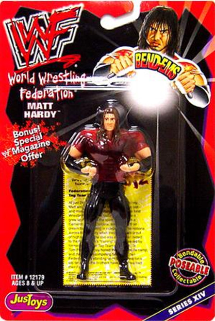 WWE Wrestling WWF Bend-Ems Series 14 Matt Hardy Rubber Figure