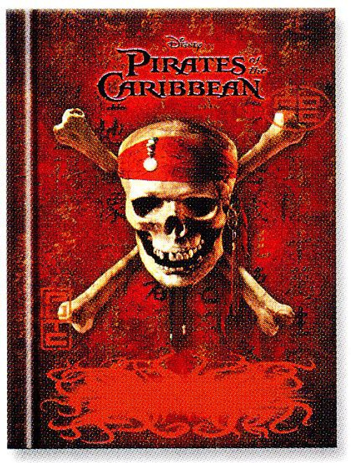 Pirates of the Caribbean Personalized Diary Journal [Skull & Bones]