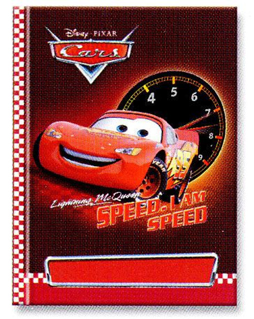 Disney Cars Lightning McQueen Personalized Diary Journal