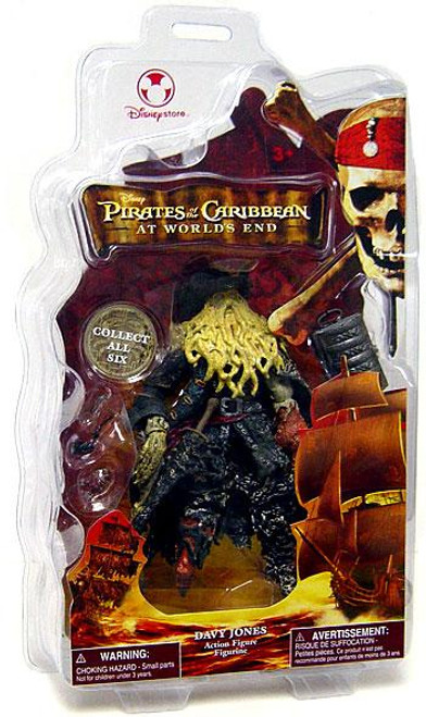 Disney Pirates of the Caribbean At World's End Davy Jones Exclusive Action Figure