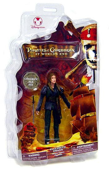 Disney Pirates of the Caribbean At World's End Elizabeth Swann Exclusive Action Figure