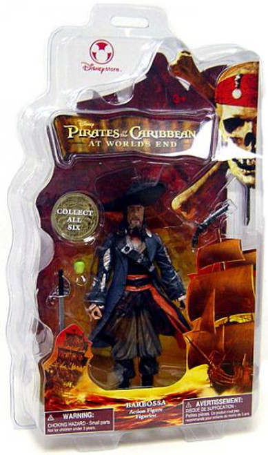 Disney Pirates of the Caribbean At World's End Barbossa Exclusive Action Figure