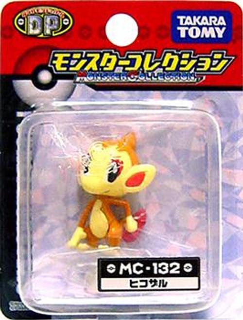 Pokemon Diamond & Pearl Monster Collection Chimchar PVC Figure MC-132 [Japanese]