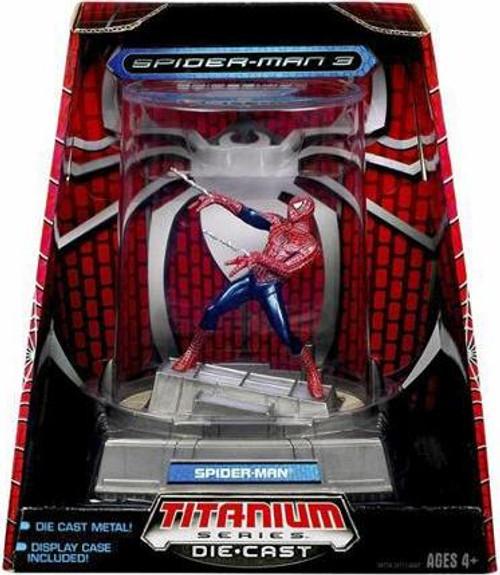Spider-Man 3 TItanium Series Spider-Man Diecast Figure