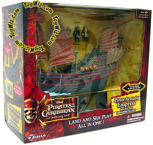 Pirates of the Caribbean At World's End Pirate Armada Empress Micro Playset