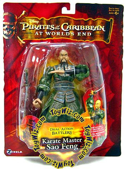 Pirates of the Caribbean At World's End Dual Action Battlers Sao Feng Action Figure [Karate Master]