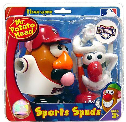 MLB Sports Spuds Washington Nationals Mr. Potato Head
