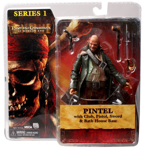 NECA Pirates of the Caribbean At World's End Series 1 Pintel Action Figure