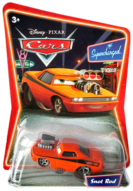 Disney Cars Supercharged Snot Rod Diecast Car