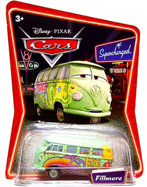 Disney Cars Supercharged Fillmore Diecast Car