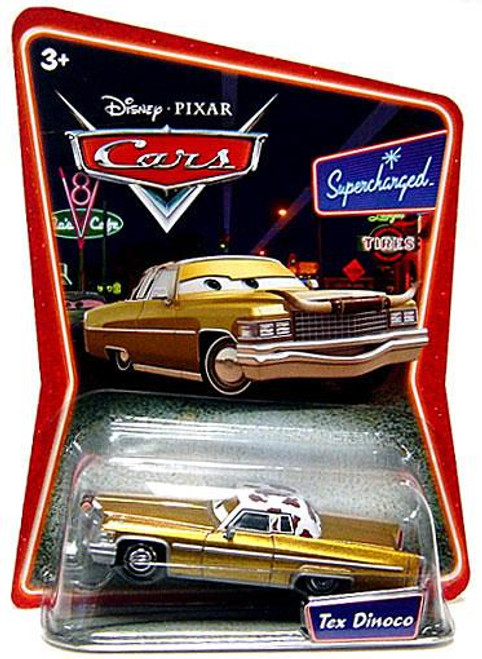 Disney Cars Supercharged Tex Dinoco Diecast Car