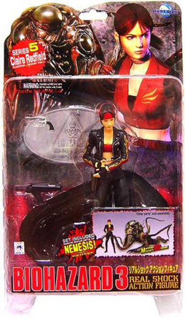 Resident Evil Biohazard 3 Series 5 Claire Redfield Action Figure