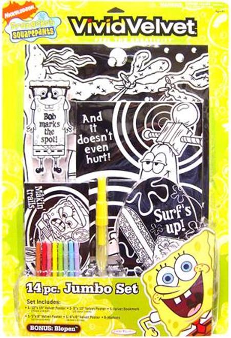 Spongebob Squarepants 14 Piece Jumbo Set Activity Set [Xtra-Large]
