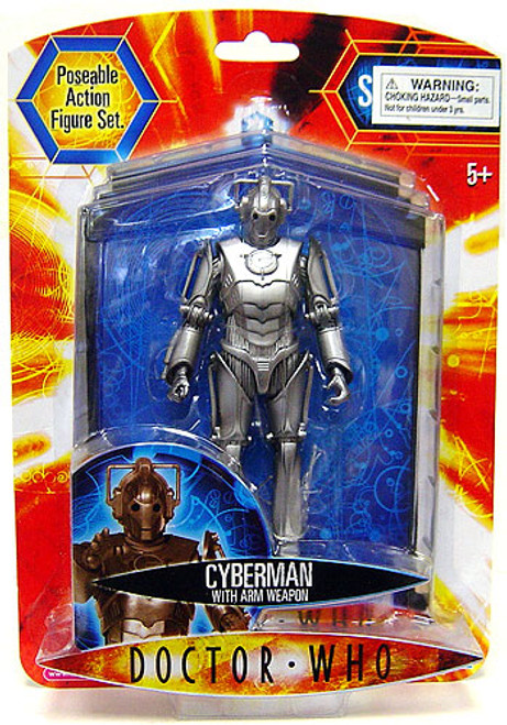 Doctor Who Underground Toys Series 2 Cyberman Action Figure