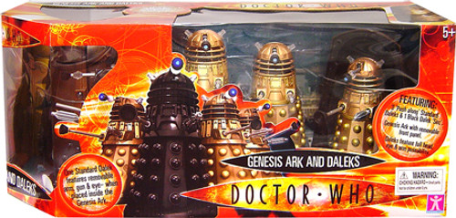 Doctor Who Genesis Ark and Daleks Action Figure Set