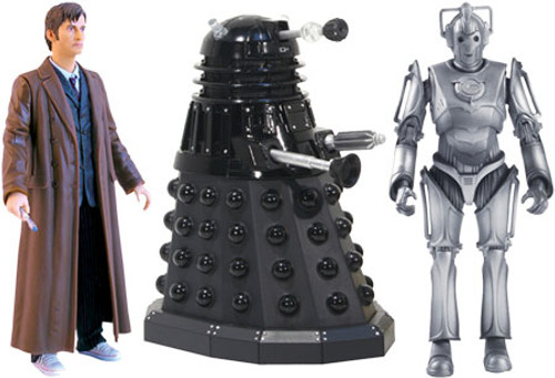 Doctor Who Doomsday Action Figure Set
