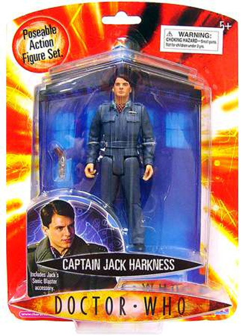 Doctor Who Underground Toys Captain Jack Harkness Exclusive Action Figure