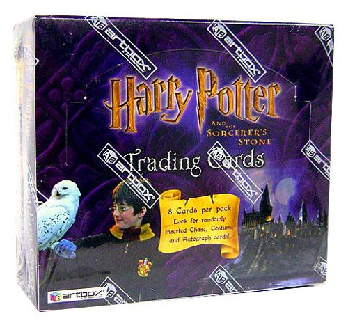 Harry Potter and The Sorcerer's Stone Trading Card Box [Hobby Edition]