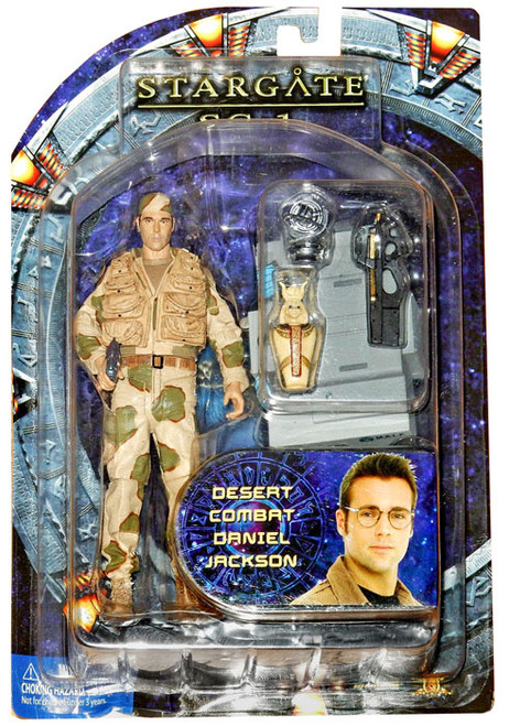 Stargate SG-1 Series 4 Daniel Jackson Action Figure [Desert Camo]