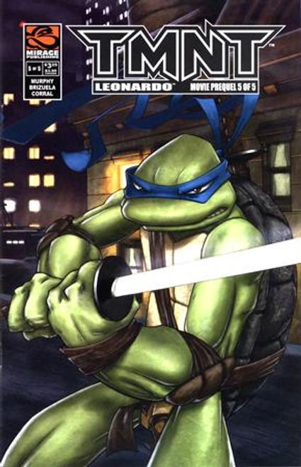 Teenage Mutant Ninja Turtles Leonardo Comic Book #5
